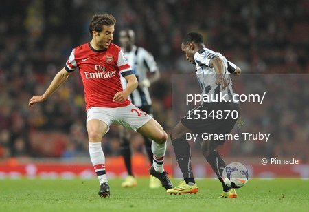 Arsenal v Newcastle United  280414