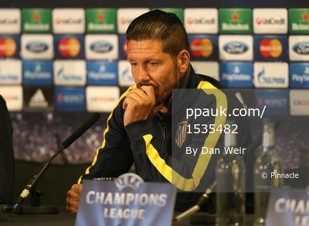 Atletico Madrid Press Conference 290414