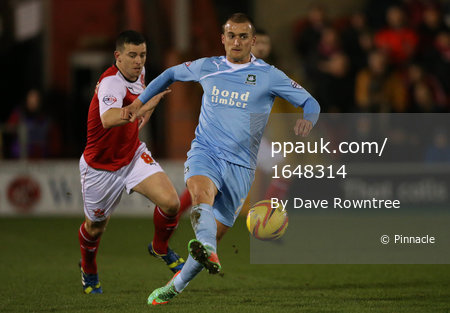 Fleetwood v Plymouth 250214