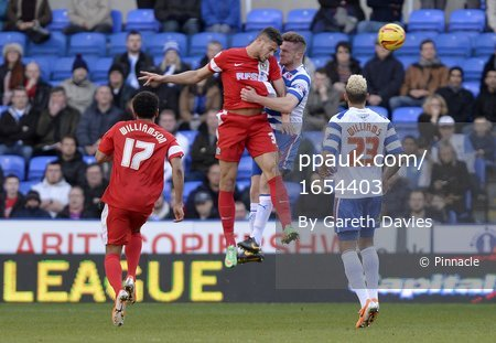 Reading v Blackburn 220214