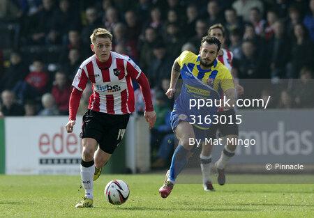 Exeter City v Accrington 290314