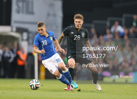 Republic Of Ireland v Italy 310514