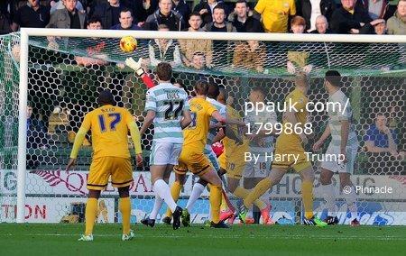 Yeovil Town v Preston North End 291114