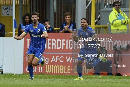 AFC Wimbledon v Exeter City 290815