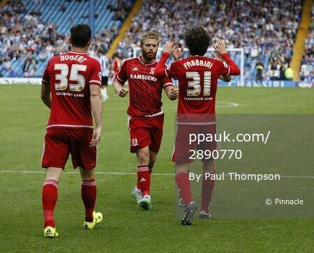 Sheffield Wednesday v Middlesbrough 290815