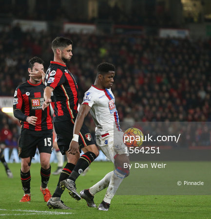 AFC Bournemouth v Crystal Palace 261215