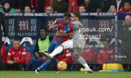 Crystal Palace v Swansea City 281215