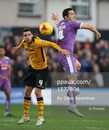 Newport County v Plymouth Argyle 281215
