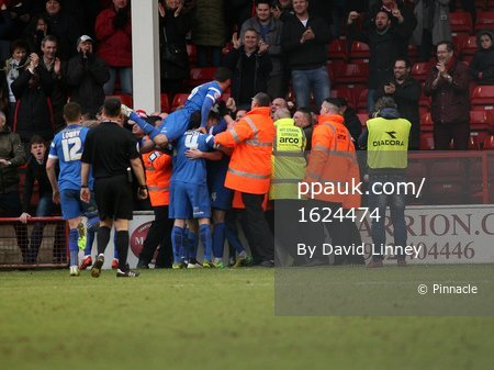 Walsall v  Orient  280215