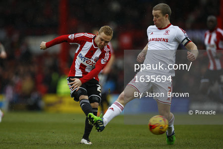 Brentford v Middlesbrough 310115