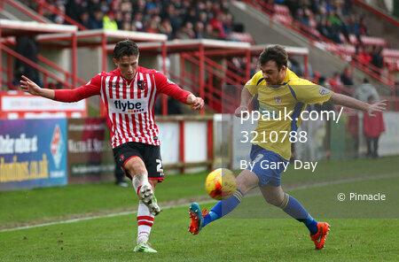 Exeter City v Accrington 030115