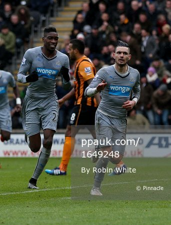 Hull City v Newcastle United 310115