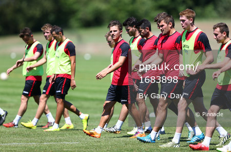 Exeter City Training 300615