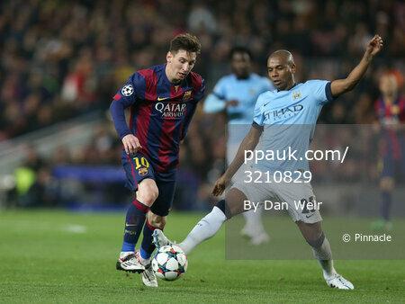 Barcelona v Manchester City 180315
