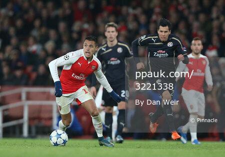 Arsenal v Dinamo Zagreb 241115