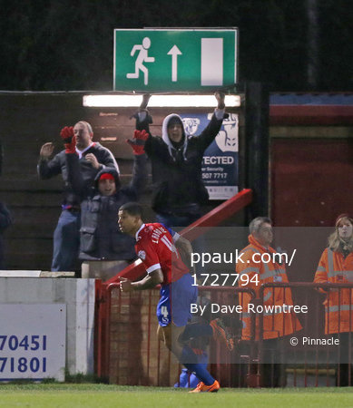 Dagenham & Redbridge v Plymouth Argyle 281115