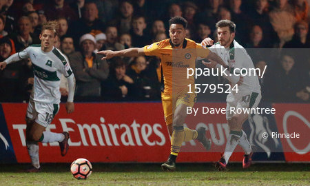 Newport County v Plymouth Argyle 211216