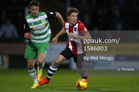 Yeovil Town v Exeter City 261216