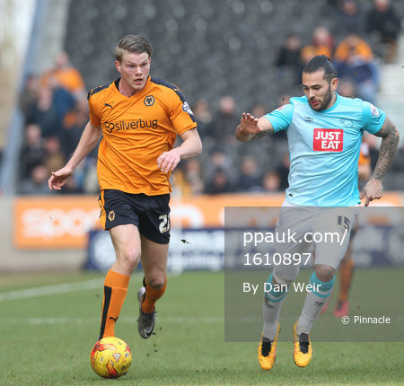 Wolverhampton Wanderers v Derby County 270216
