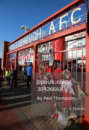 Middlesbrough v Sunderland, Middlesbrough, UK - 26 April 2017