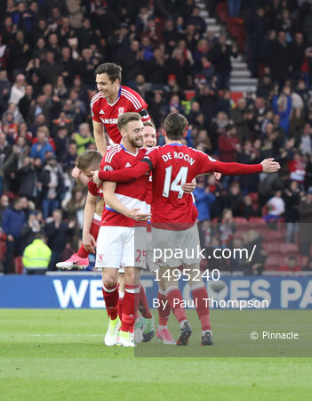 Middlesbrough v Sunderland, Middlesbrough, UK - 26 April 2017