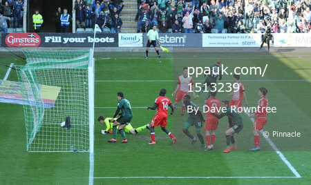 Plymouth Argyle v Crewe Alexandra, Plymouth UK - 29 Apr 2017