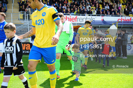 Torquay United v North Ferriby United, Torquay, UK - 29 Apr 2017
