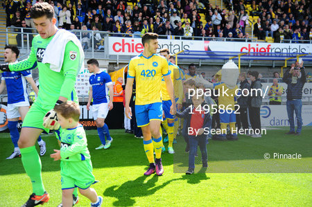 Torquay United v North Ferriby United, Torquay, UK - 29 Apr 2017