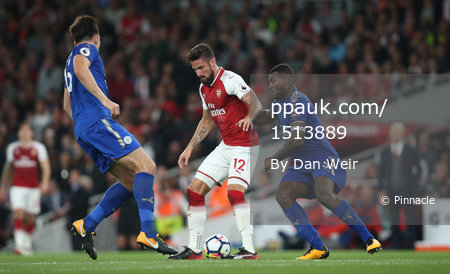 Arsenal v Leicester City, London, UK - 11th August 2017