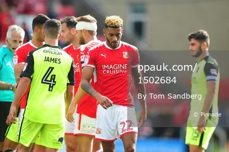Swindon Town v Exeter City, Swindon, UK - 12 August 2017