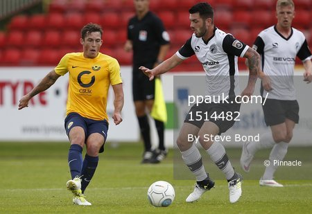 Gateshead  v Torquay United, Gateshead, UK - 12 Aug 2017