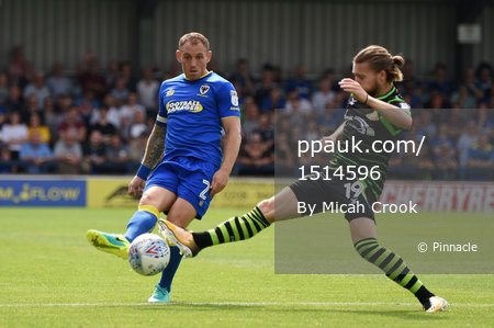 AFC Wimbledon v Doncaster Rovers, London, UK - 26 August 2017