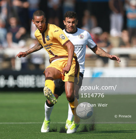 Bromley v Sutton United, London - UK - 28th August 2017