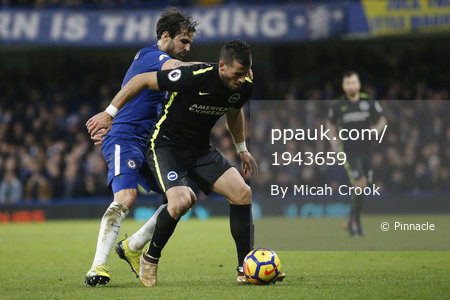 Chelsea v Brighton and Hove Albion, London, UK - 27 Dec 2017