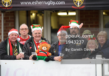 Esher Rugby v Plymouth Albion, Hersham, UK - 23 December 2017