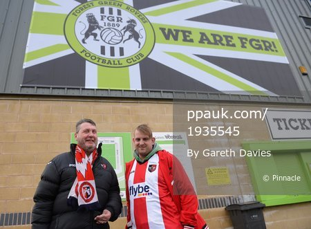 Forest Green Rovers v Exeter City, Nailsworth, UK - 02 Dec 2017