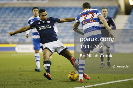 Millwall v Queens Park Rangers, London, UK - 29 Dec 2017