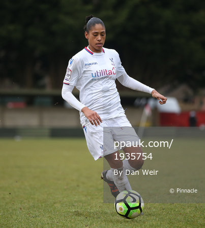 New London Lionesses v Crystal Palace Ladies, London - UK - 3rd