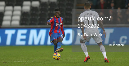 Swansea City v Crystal Palace, Wales - UK - 23 Dec 2017