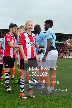 Exeter City v Blackpool, Exeter, UK - 25 Feb 2017