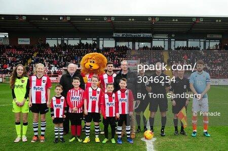 Exeter City v Blackpool, Exeter, UK - 25 Feb 2017