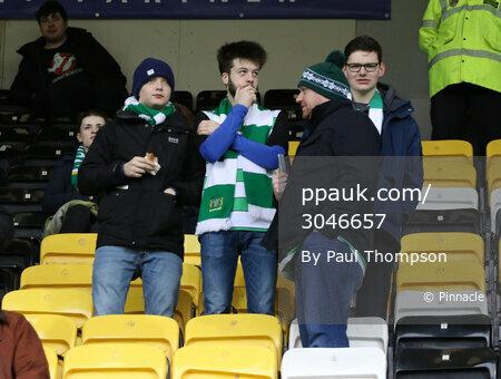 Notts County v Yeovil Town, Nottingham, UK - 25 Feb 2017