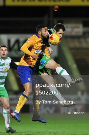 Yeovil Town v Mansfield Town, Yeovil, UK - 28 Feb 2017