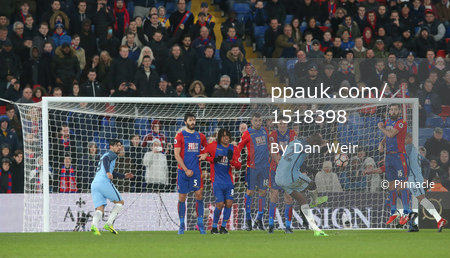 Crystal Palace v Manchester City 280117