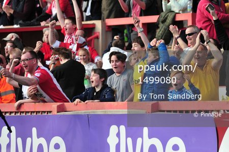 Exeter City v Yeovil Town, Exeter, UK - 25 Mar 2017