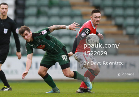 Plymouth Argyle v Morecambe, Plymouth UK - 18 Mar 2017