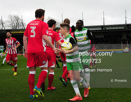 Yeovil Town v Accrington Stanley UK - 18 Mar 2017