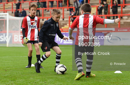 Exeter City v Grimsby Town, Exeter, UK - 11 Nov 2017