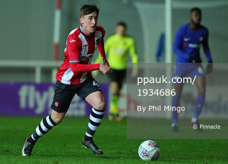 Exeter City u23 v Chelsea u23, Exeter, UK - 28 Nov 2017