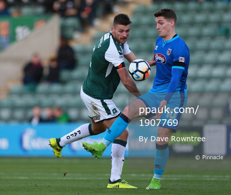 Plymouth Argyle v Grimsby Town, Plymouth, UK - 4 Nov 2017
